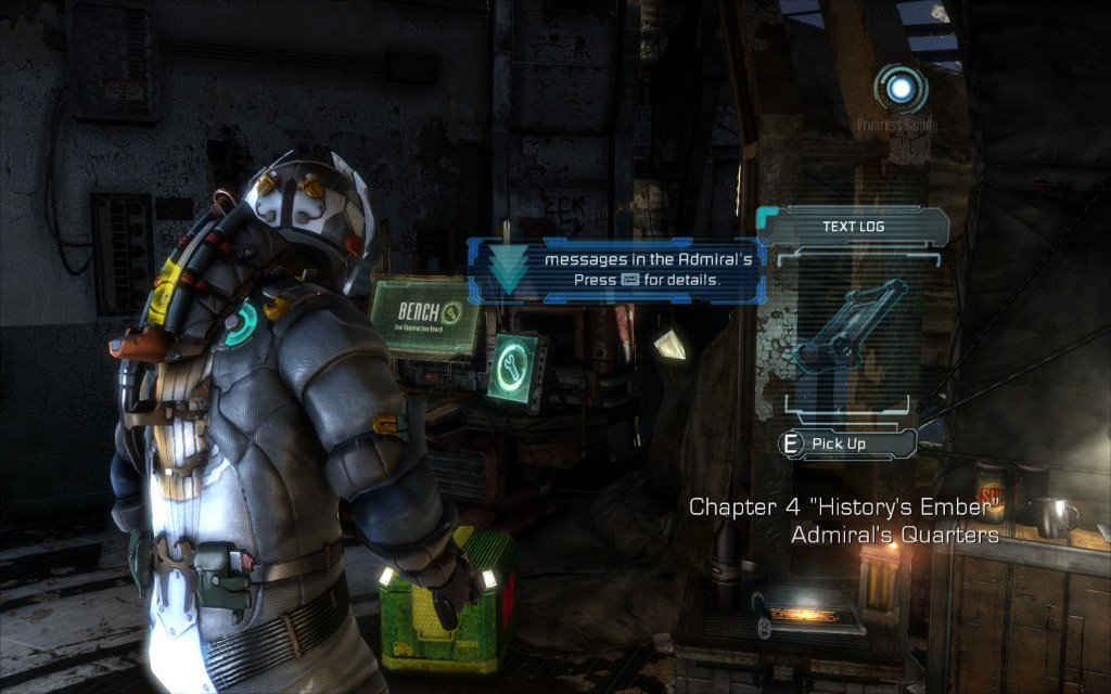 Log Locations in Dead Space 3 Chapter 4