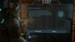 Dead Space 3 Log Location 7 Chapter 9 Image3