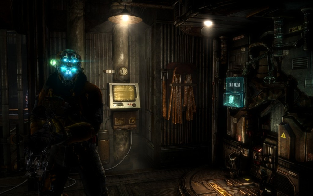 Artifact Locations in Dead Space 3 Chapter 11