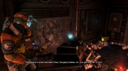 Dead Space 3 Log Location 6 Chapter 11 Image3