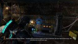 Log 1 Location Chapter 8 Dead Space 3 Image6