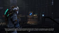 Dead Space 3 Log 5 Location Chapter 4 Image2