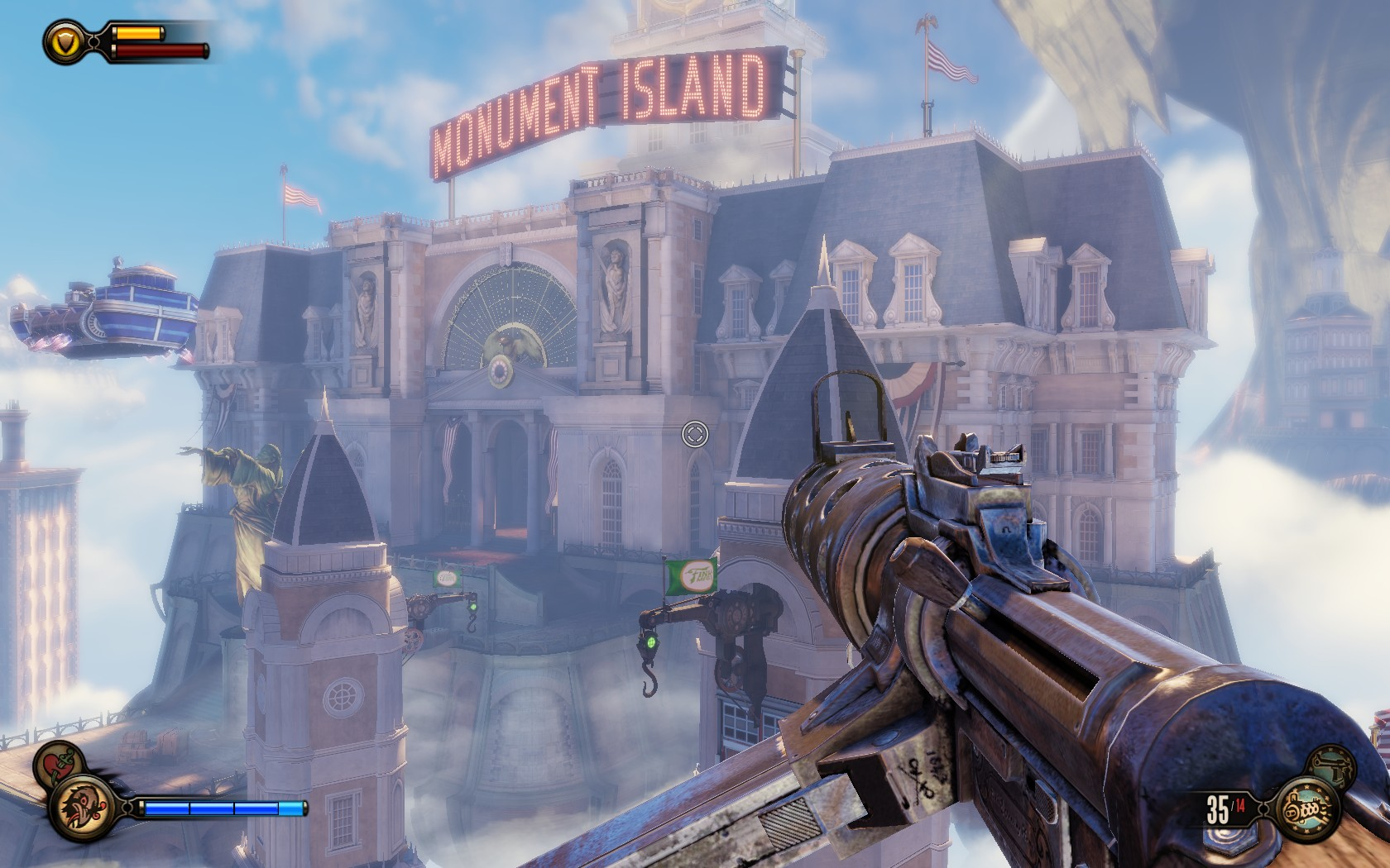 Bioshock Infinite Monument Island Gateway