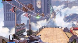 Bioshock Infinite Telescope Monument Island Gateway