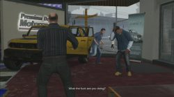 GTA 5 Mission 5 Complications