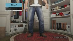 gta 5 Blue Casual Jeans