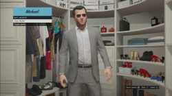 gta 5 Gray Jacket