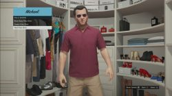 gta 5 Red Polo shirts