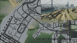 GTA 5 Under The Bridge Location 23