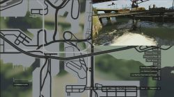 GTA 5 Under The Bridge Location 27
