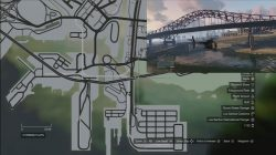 GTA 5 Under The Bridge Location 29