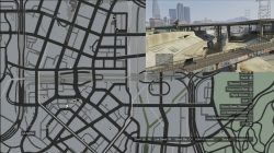GTA 5 Under The Bridge Location 33