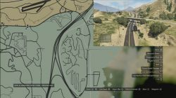 GTA 5 Under The Bridge Location 49