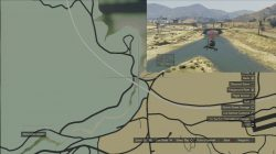 GTA 5 Under The Bridge Location 8