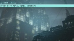 gotham city royal hotel