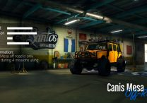 canis mesa off road vehicle
