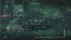 AC 4 Elite Swivel Guns Plan Location
