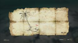 AC 4 Ile a Vache Treasure Map