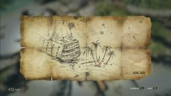 Andreas Island Treasure Map