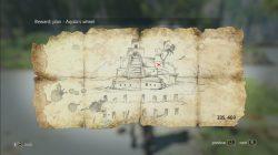 Cumberland Bay Treasure Map