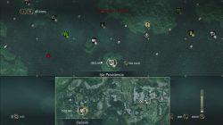 Isla Providencia Cadaver Location