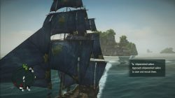 ac 4 gilded sails front view