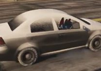 gta 5 online snow car