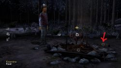 The Walking Dead Season Two All That Remains campfire