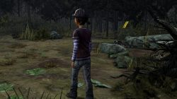 The Walking Dead Season Two All That Remains zombie signpost