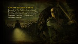 The Walking Dead Season Two All That Remains save file