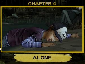 The Walking Dead Chapter 4 Alone