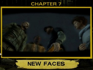 The Walking Dead Chapter 7 New Faces