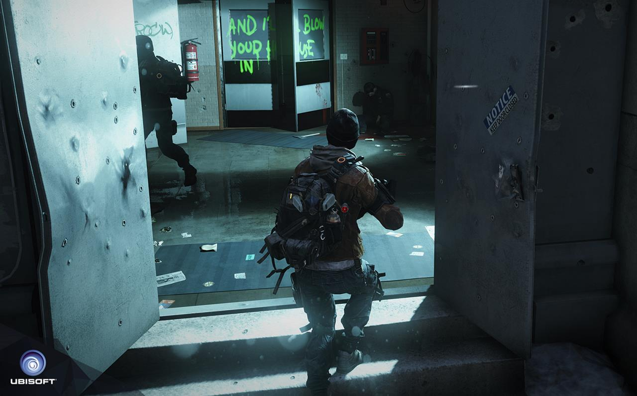 The Division january 2014 screenshot third person perspective