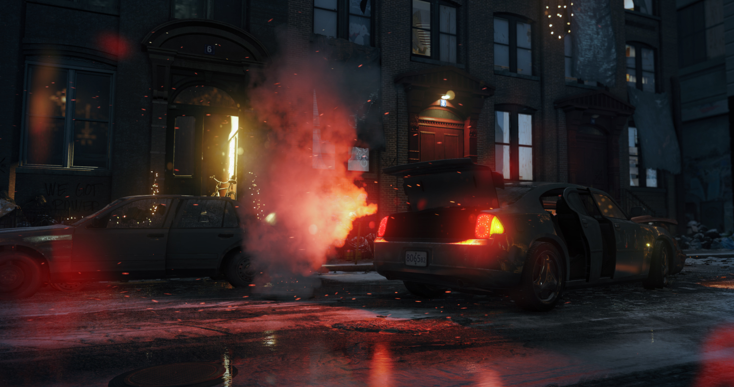 The Division january 2014 screenshot special effects