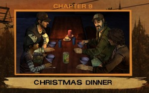 Episode 2 A House Divided The Walking Dead Christmas Dinner