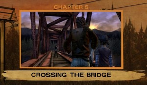 Episode 2 A House Divided The Walking Dead Crossing the Bridge