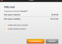 Titanfall preload started