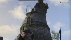 Atop the soulless tower