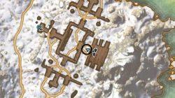 High atop the shrouded Barrow map