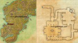 Near Silumms well on Daggerfall shores map