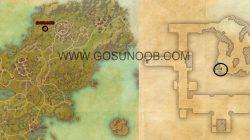 Where Ebon Crypts become Ebon Caves map