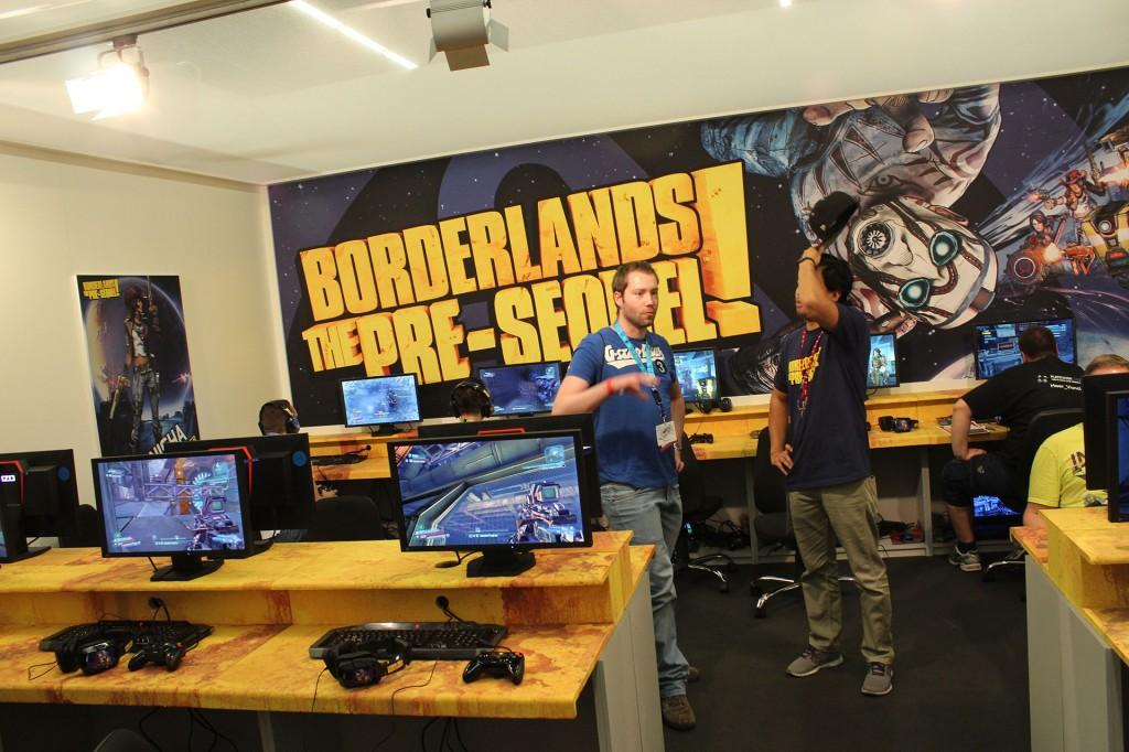 borderlands pre sequel hands-on