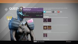 Destiny Queens Wrath rosegold shader