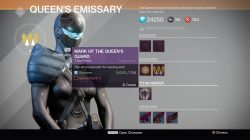Destiny mark of the queens guard
