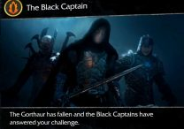 The Black Captain Shadow of Mordor Main Story