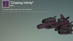 Chasing Infinity Ship