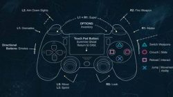 destiny PS4 control scheme