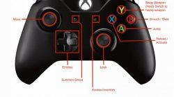 destiny xbox one control scheme