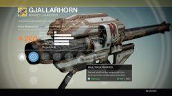destiny Gjallarhorn