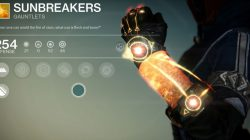destiny Sunbreakers